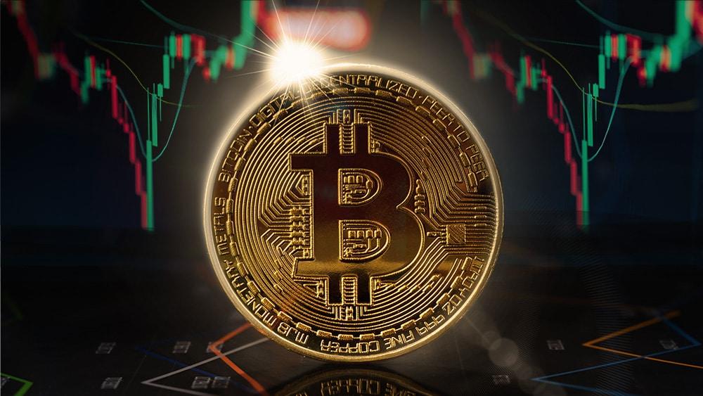 Bitcoin cayó por debajo de los USD 40.000 antes de recuperarse